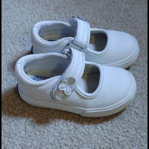 Infant White Keds 4M